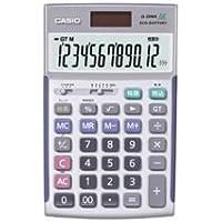 カシオ CASIO 本格実務電卓 12桁 ジャストタイプ JS-20WK 1台 ds-962985