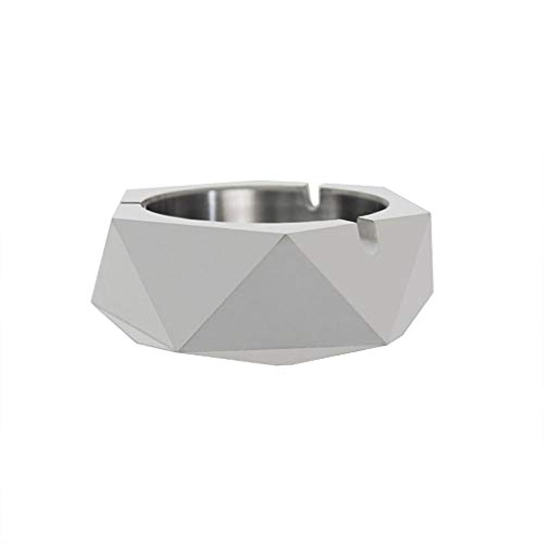 オントチの実の木従うダイヤモンド型シリコーン型石膏セメントDIY灰皿ローソク足、セメントクリエイティブ灰皿、セメントクリエイティブ灰皿増加 (色 : A)