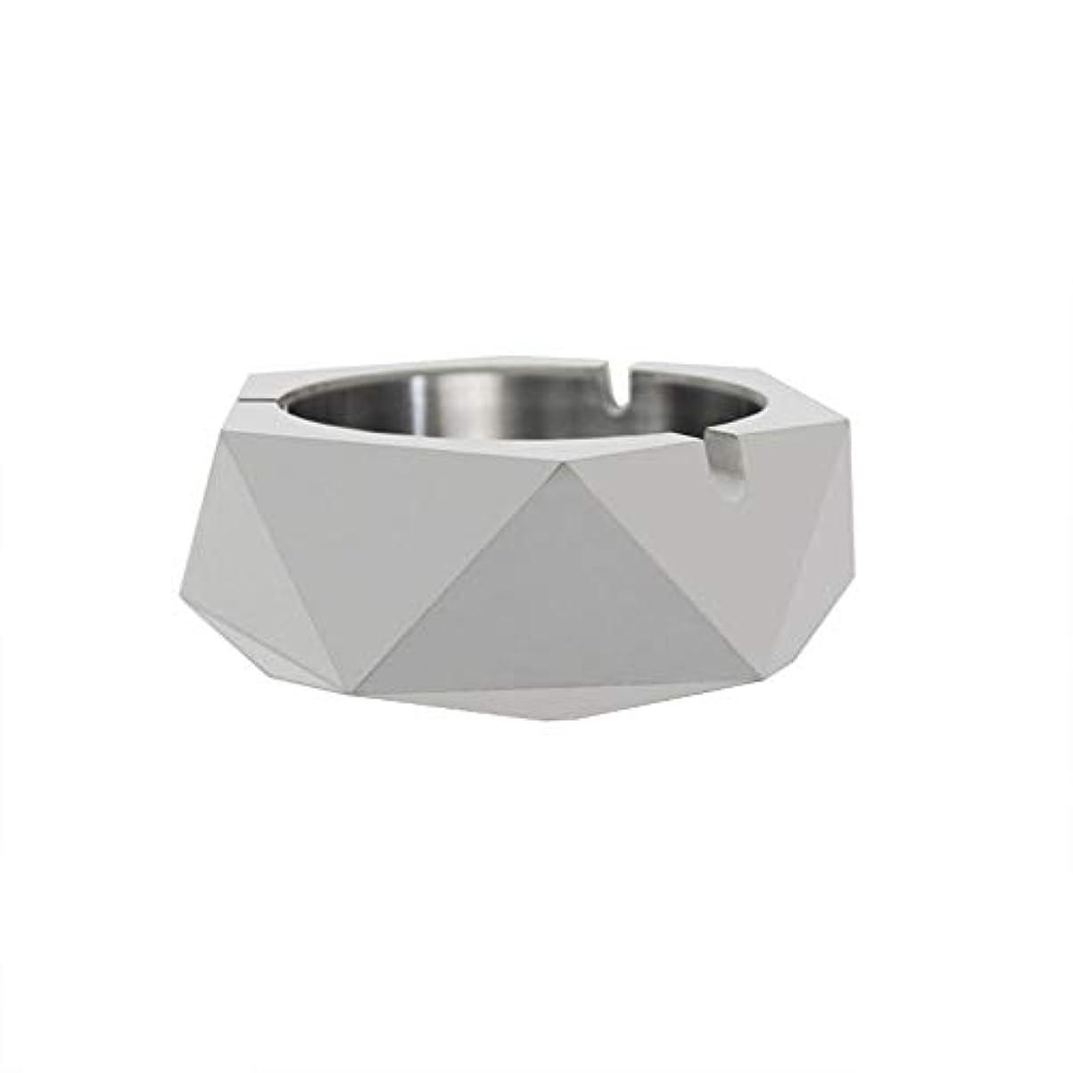 アシスタント支店悪因子ダイヤモンド型シリコーン型石膏セメントDIY灰皿ローソク足、セメントクリエイティブ灰皿、セメントクリエイティブ灰皿増加 (色 : A)