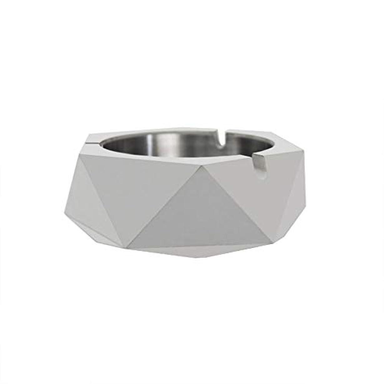 論理的不明瞭含意ダイヤモンド型シリコーン型石膏セメントDIY灰皿ローソク足、セメントクリエイティブ灰皿、セメントクリエイティブ灰皿増加 (色 : A)