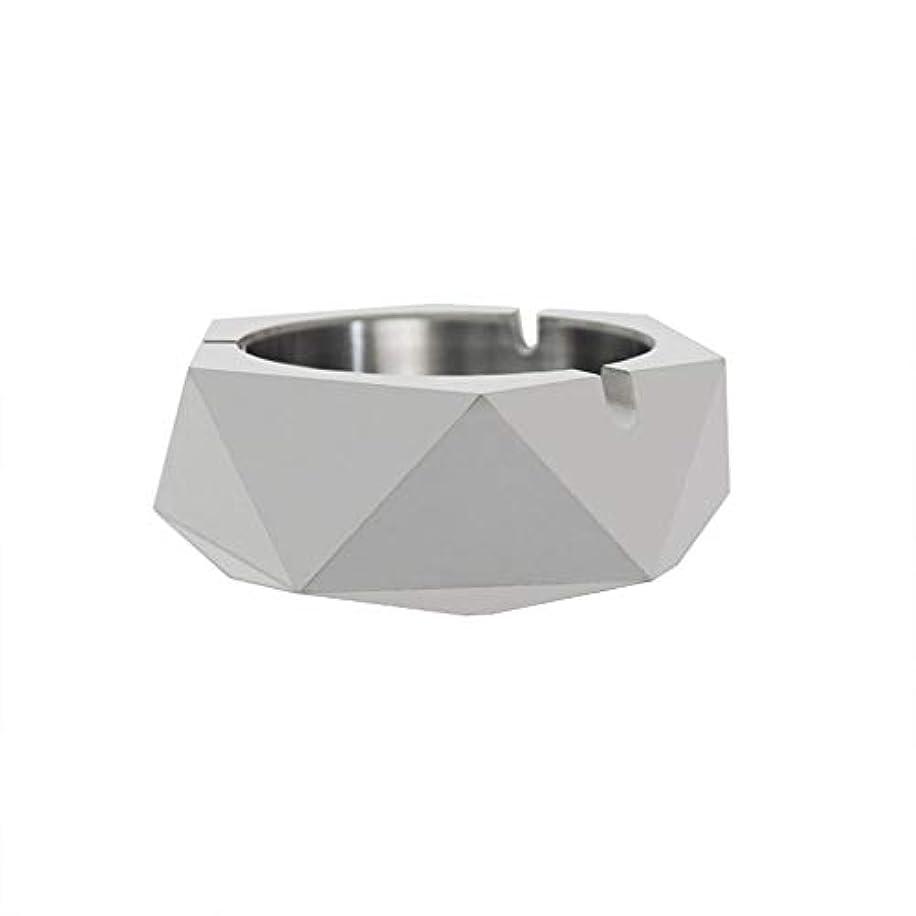明るくする監査密ダイヤモンド型シリコーン型石膏セメントDIY灰皿ローソク足、セメントクリエイティブ灰皿、セメントクリエイティブ灰皿増加 (色 : A)