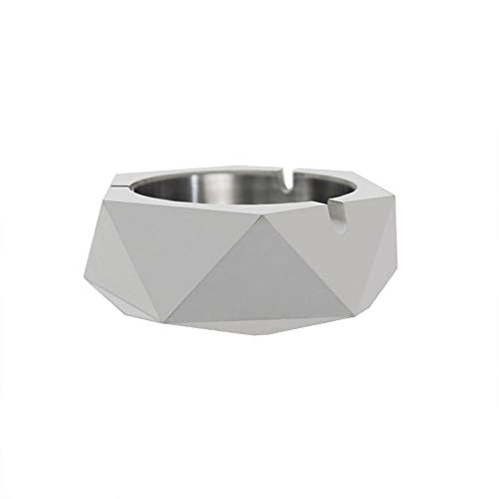 厚くする剪断信頼ダイヤモンド型シリコーン型石膏セメントDIY灰皿ローソク足、セメントクリエイティブ灰皿、セメントクリエイティブ灰皿増加 (色 : A)