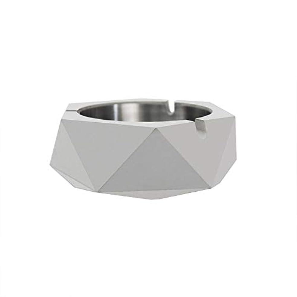 ボール値残忍なダイヤモンド型シリコーン型石膏セメントDIY灰皿ローソク足、セメントクリエイティブ灰皿、セメントクリエイティブ灰皿増加 (色 : A)