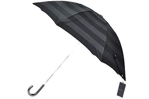 (バーバリー) BURBERRY バーバリー BURBERRY ボーダー ×ロゴ デザイン プチパラ 日傘/ 黒(ブラッ...