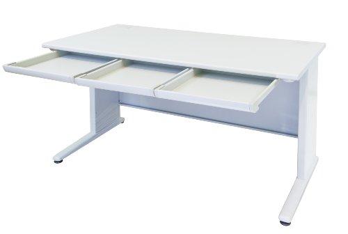 事務机 平机 スチールデスク W1400*D700*H700mm オフィスデスク