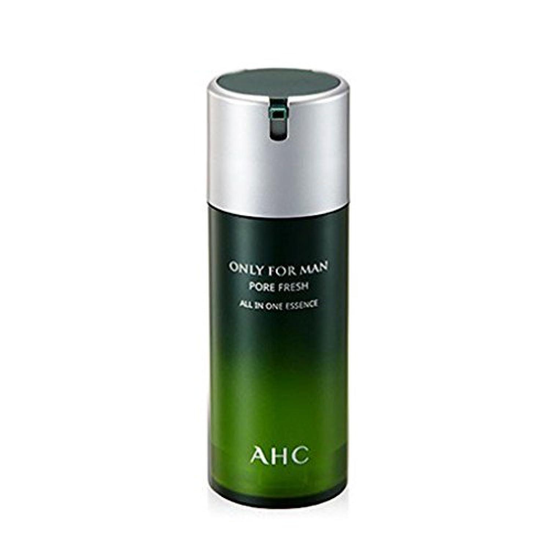 やりがいのある速い改修AHCオンリーフォーマンフォア?フレッシュオールインワンエッセンス120mlの男性用化粧品、AHC Only For Man Pore Fresh All In One Essence 120ml [並行輸入品]