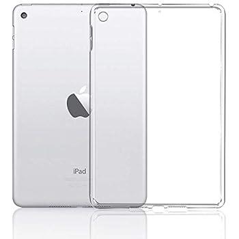 iPad Mini5 2019 ケース AnnTec ソフト TPU素材 タブレット用 耐衝撃 超薄型 軽量 背面カバー クリスタル クリア iPad Mini5 2019 新型 保護カバー (半透明)