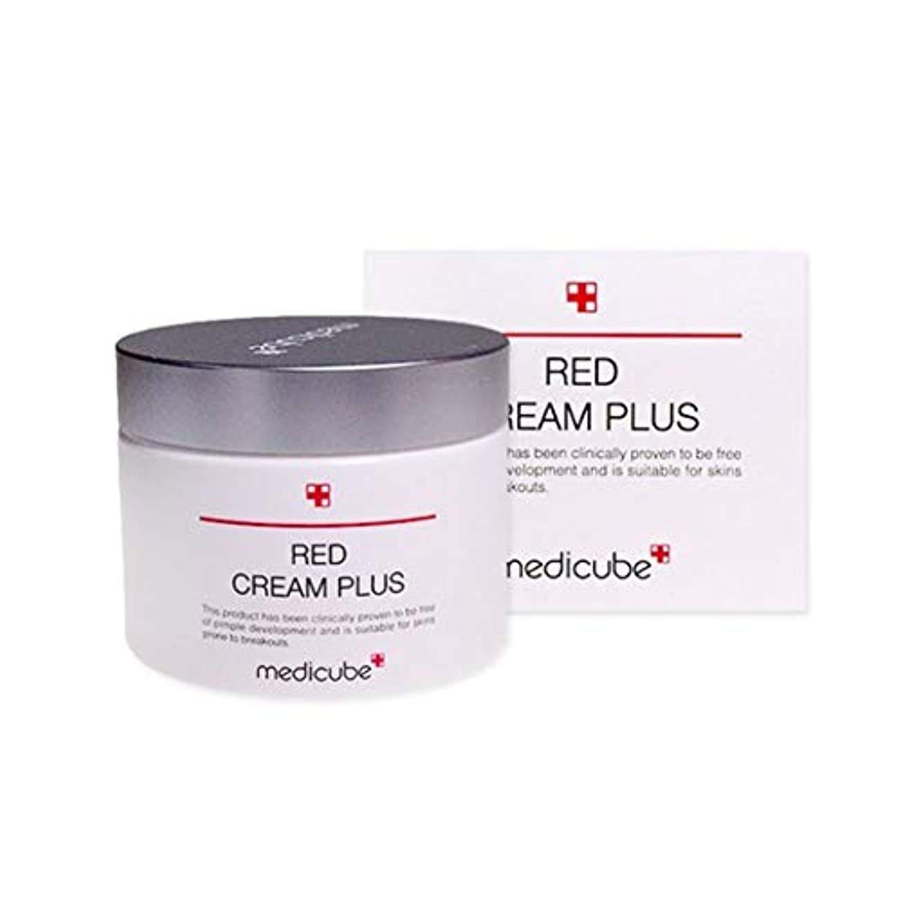 戦艦結果顕著メディキューブレッドクリームプラス100ml韓国コスメ、Medicube Red Cream Plus 100ml Korean Cosmetics [並行輸入品]