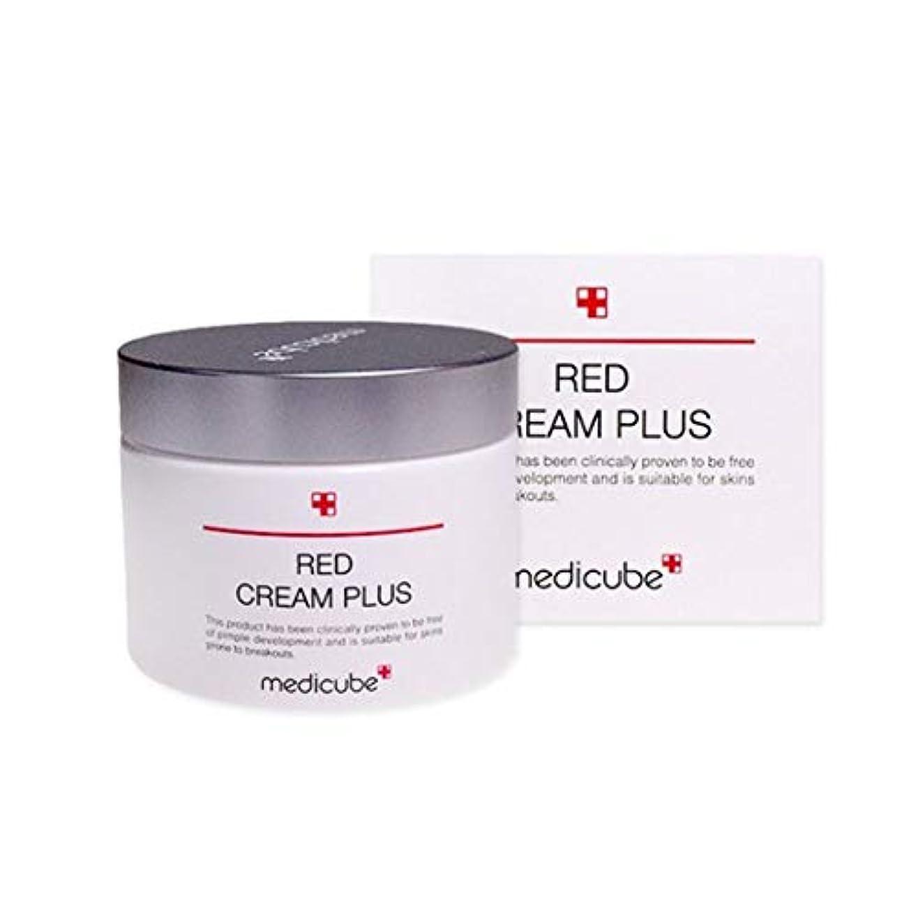 偏心不従順一族メディキューブレッドクリームプラス100ml韓国コスメ、Medicube Red Cream Plus 100ml Korean Cosmetics [並行輸入品]