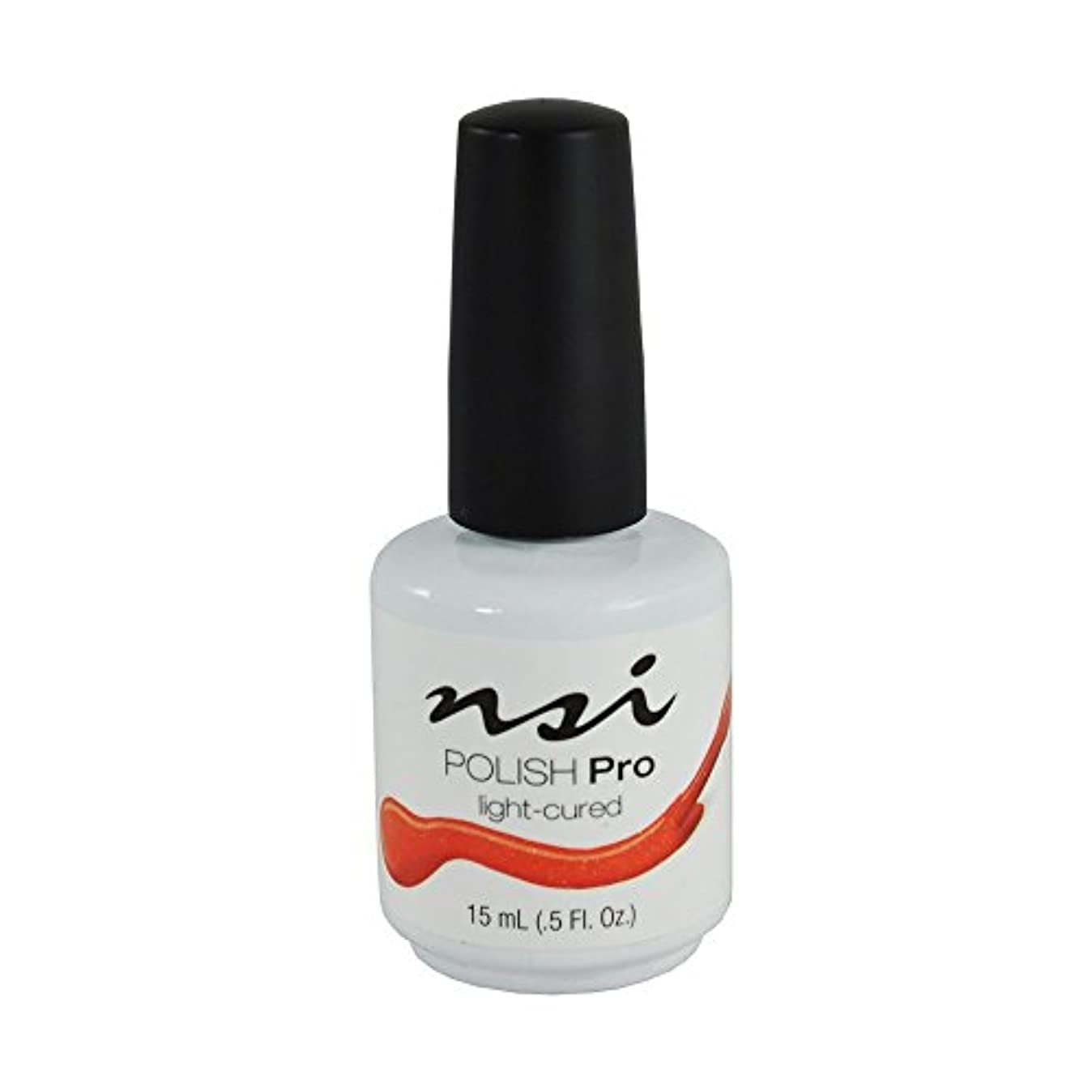 満了連隊市民権NSI Polish Pro Gel Polish - Home on O'Range - 0.5oz / 15ml
