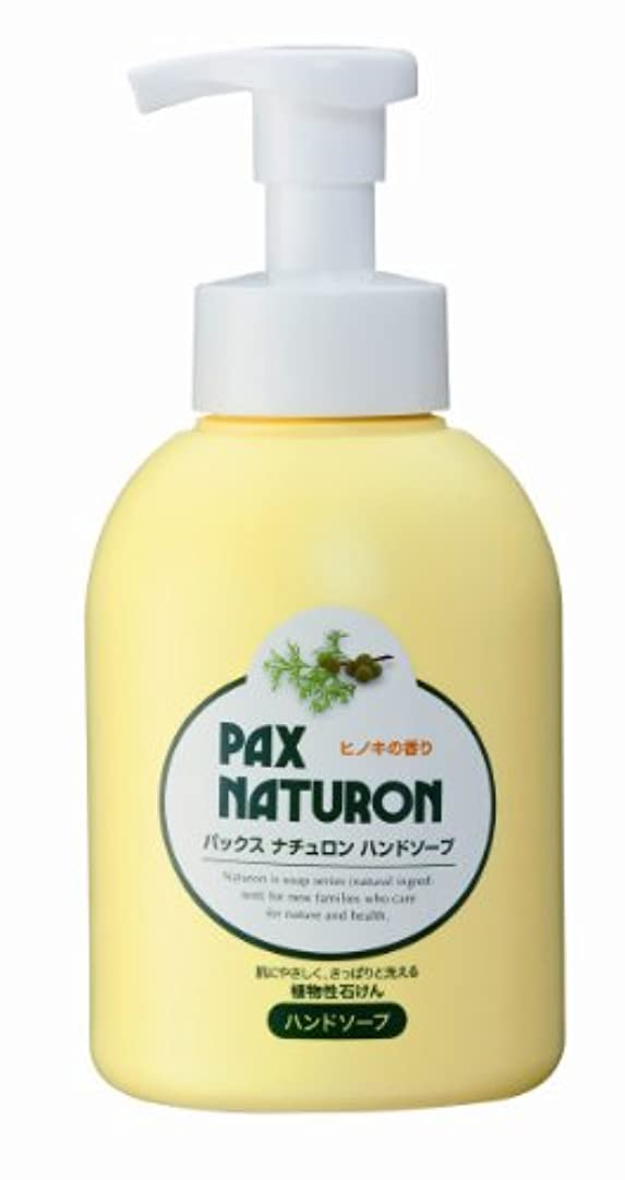 バター一杯亜熱帯パックスナチュロン ハンドソープ 500ml