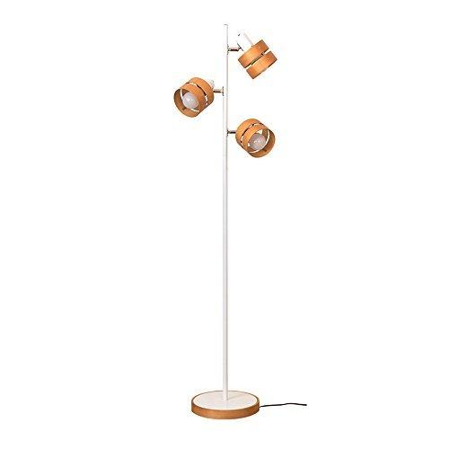 ボーベル(BeauBelle) フロアライト 3灯 レダフロア ホワイト・ナチュラル スタンドライト 間接照明 BBF-022 WN