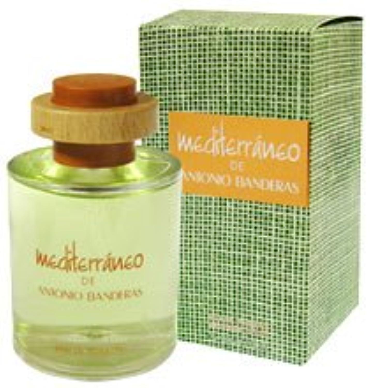 きょうだい契約した医療のMediterraneo (メディタレイネオ) 3.4 oz (100ml) EDT Spray by Antonio Banderas for Men
