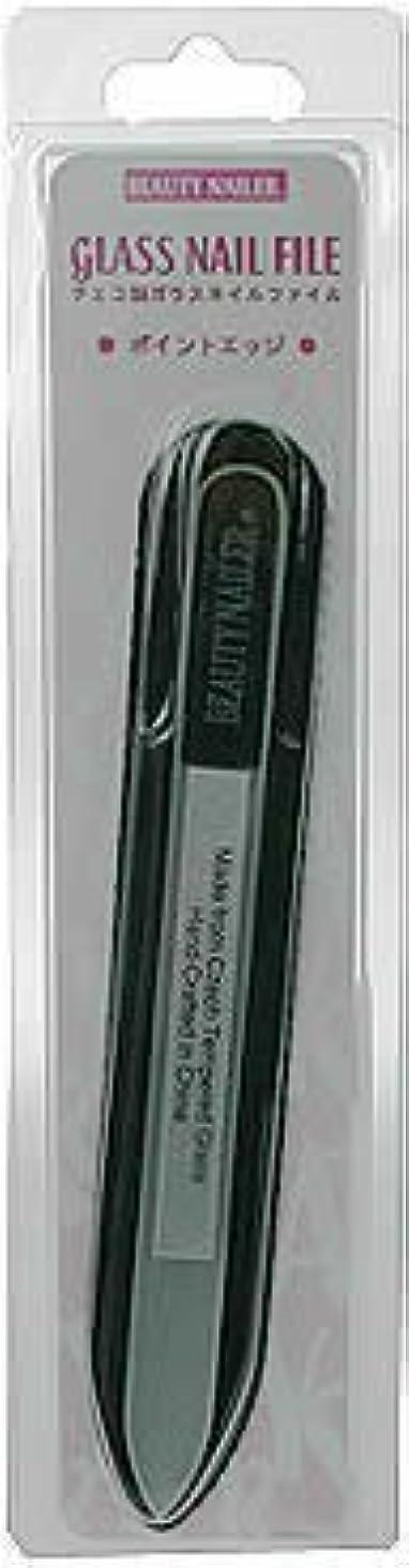 インシュレータ確立ブッシュムラキ ビューティーネイラー ポイントエッジ(チェコ製ガラスネイルファイル)