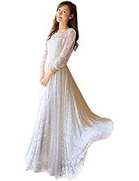 218f9532b2173 スカート刺繍 レース ハイウエスト スレンダー マーメイドライン 結婚パーティー 披露宴 結婚式 フォーマル 花嫁 二次会