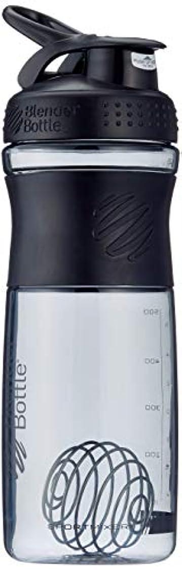 メンタル必要ない噴出するブレンダーボトル 【日本正規品】 ミキサー シェーカー ボトル Sports Mixer 28オンス (800ml) ブラック BBSME28 BKBK
