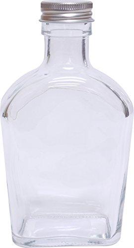 アンジュ ハーバリウムボトル ガラス瓶 幅75mm×奥行40...