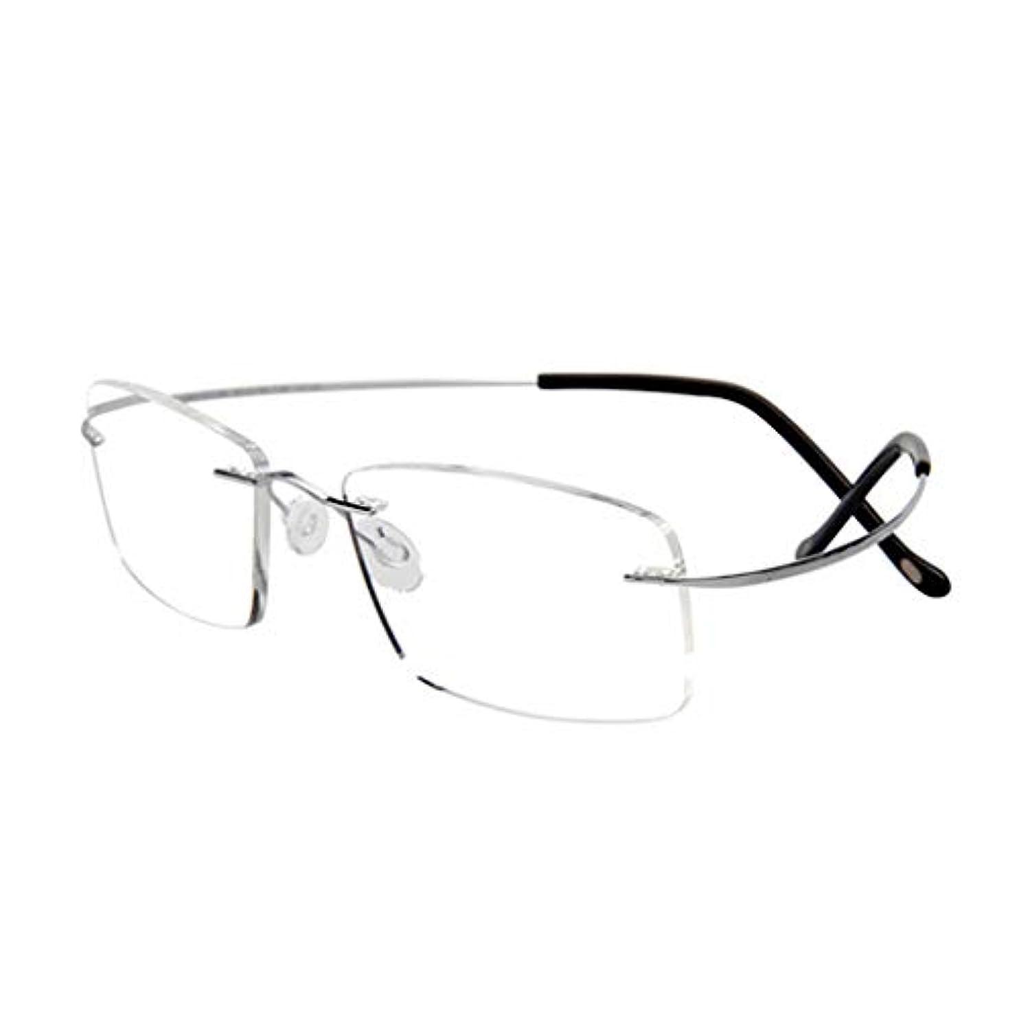 男性と女性のための老眼鏡は弾性と超弾性であり、360度回転は変形したファッションにならない、軽い、着心地の良い、ポータブル