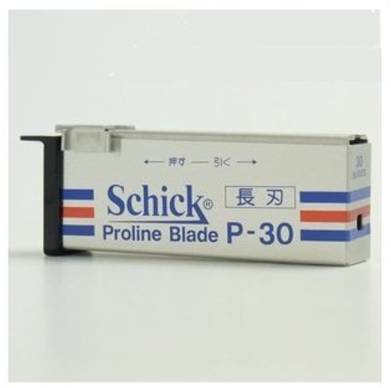 フィードバック君主制君主制シック プロラインブレード P-30 業務用替刃<長刃> 30枚入 【お得なx10個セット】