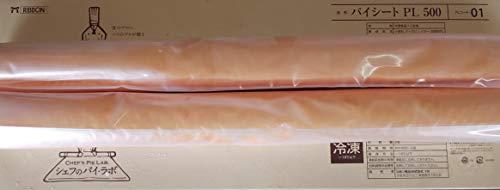リボン パイシート ( PL500-01 ) 1箱(2本)本580g(本460×320×4mm)業務用 冷凍