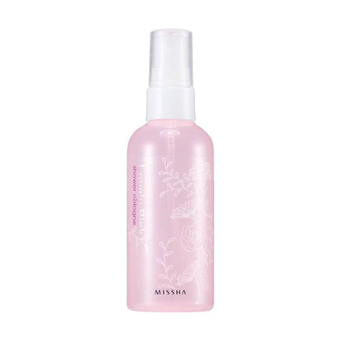 東ティモール不誠実原子炉MISSHA Perfumed Shower Cologne Lovely pink 105ml / ミシャ パフュームドシャワーコロン ラブリーピンク 105ml [並行輸入品]