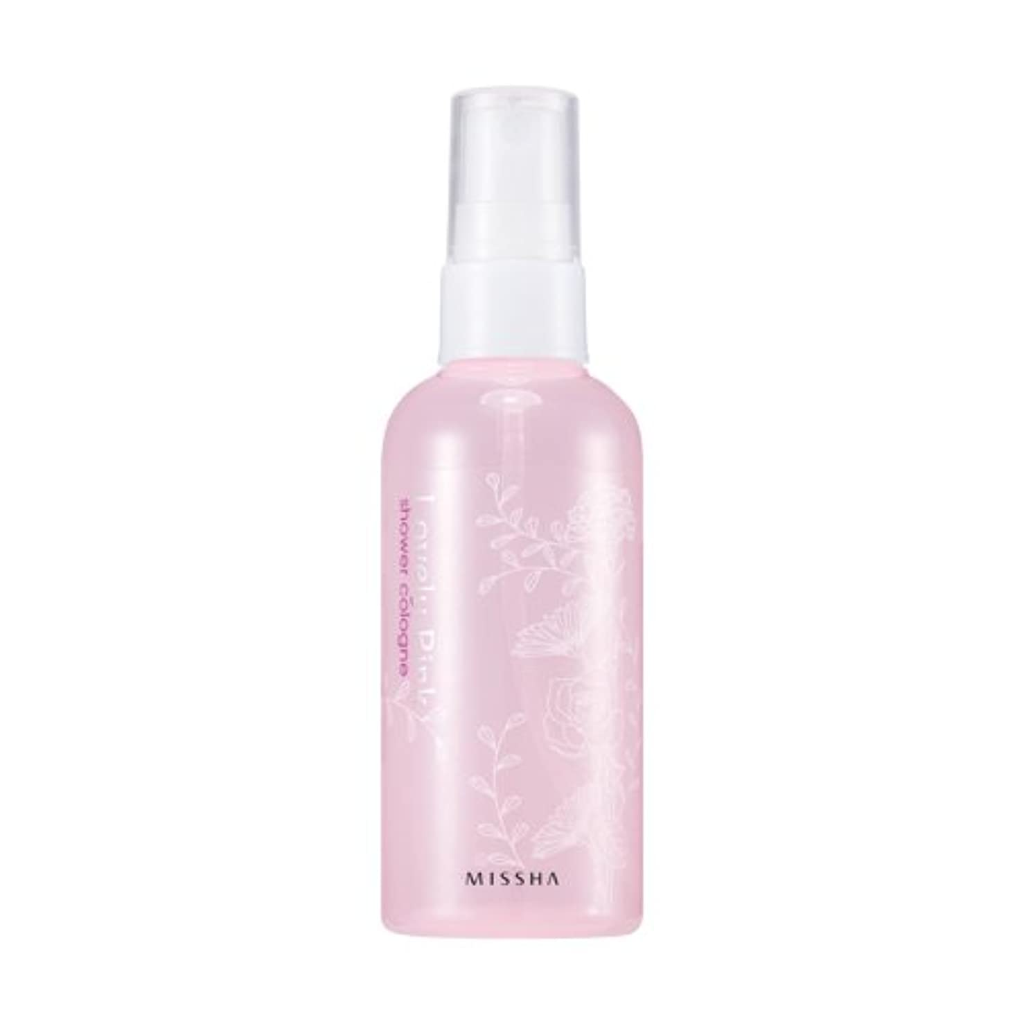 監督するその間突破口MISSHA Perfumed Shower Cologne Lovely pink 105ml / ミシャ パフュームドシャワーコロン ラブリーピンク 105ml [並行輸入品]