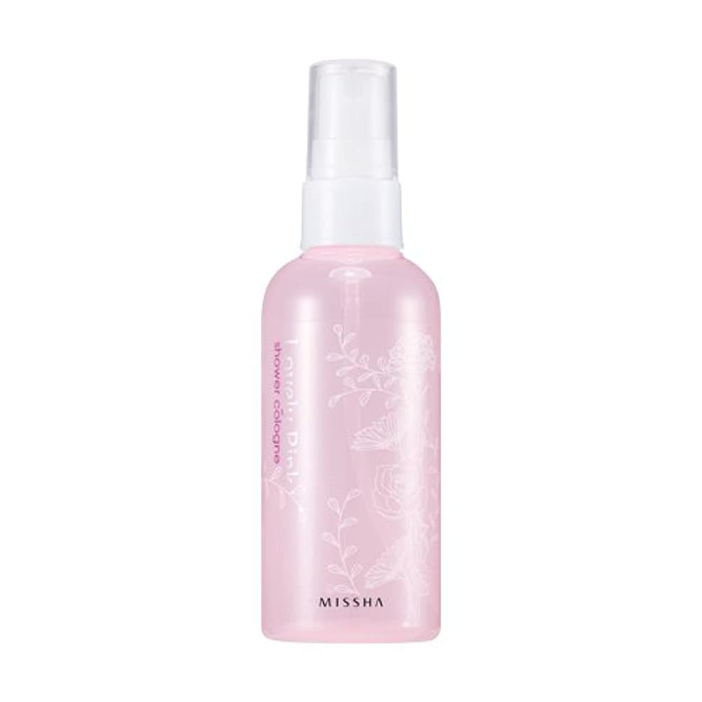 スリンクユニークな構造MISSHA Perfumed Shower Cologne Lovely pink 105ml / ミシャ パフュームドシャワーコロン ラブリーピンク 105ml [並行輸入品]