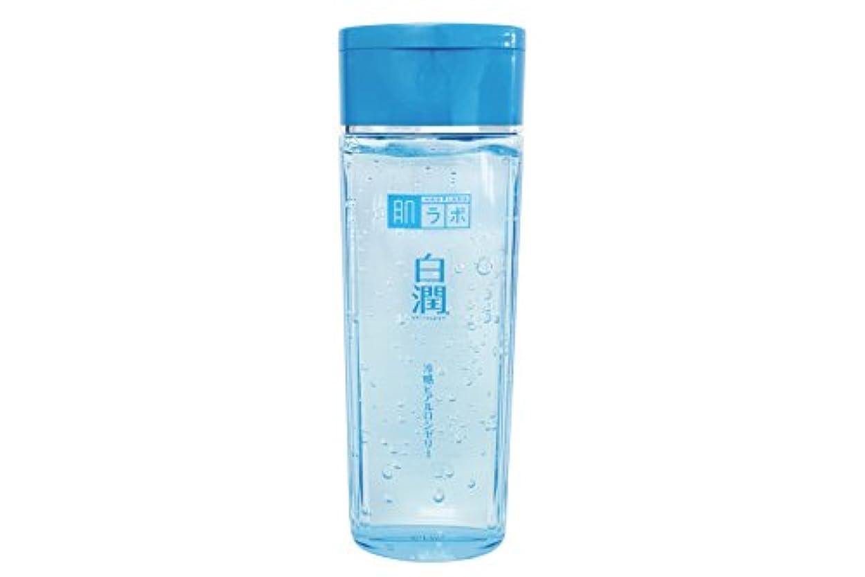 通知ナイロンバック肌ラボ 白潤 冷感ヒアルロンゼリー 化粧水?乳液?美容液?収れん?パックの5役 4つの潤い成分配合 200mL