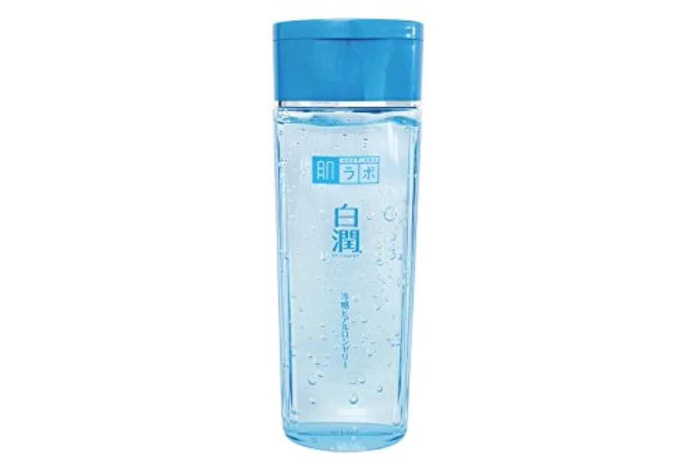 お母さんファイル脅かす肌ラボ 白潤 冷感ヒアルロンゼリー 化粧水?乳液?美容液?収れん?パックの5役 4つの潤い成分配合 200mL