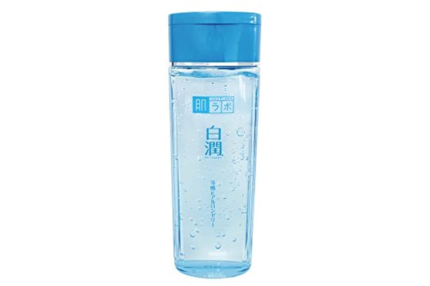 ポゴスティックジャンプ複雑申込み肌ラボ 白潤 冷感ヒアルロンゼリー 化粧水?乳液?美容液?収れん?パックの5役 4つの潤い成分配合 200mL