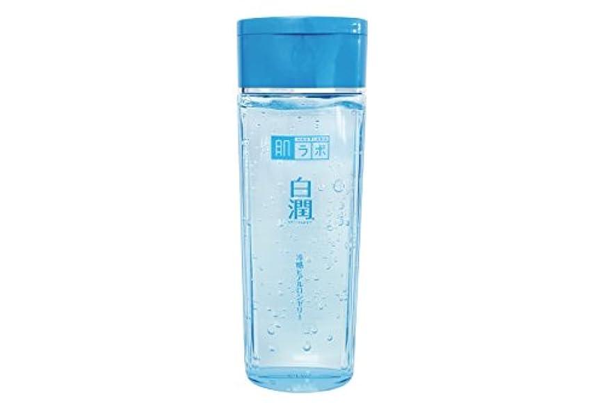 結果シマウマ本を読む肌ラボ 白潤 冷感ヒアルロンゼリー 化粧水?乳液?美容液?収れん?パックの5役 4つの潤い成分配合 200mL