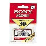 Amazon.co.jpソニー(SONY) マイクロカセット 30分 MC-30B