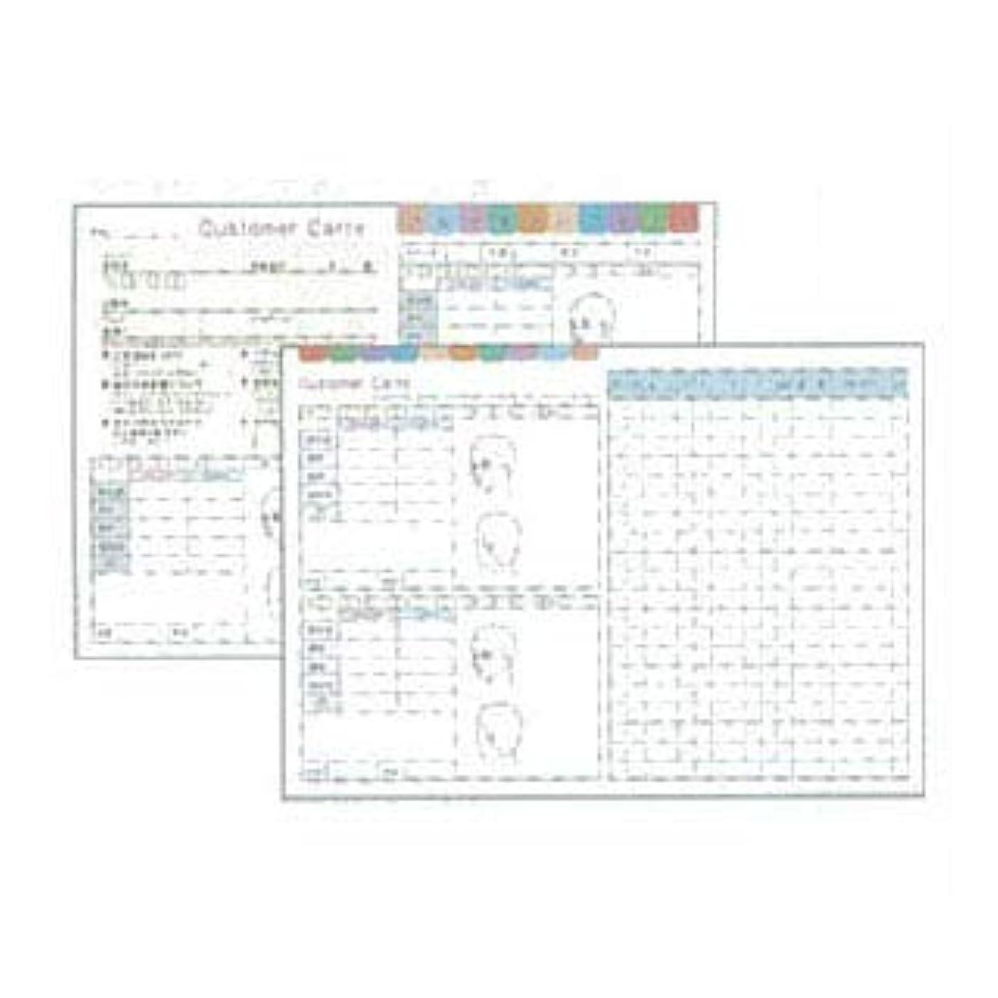 楽観受け皿無人ディーズ 顧客カルテB(250枚入)