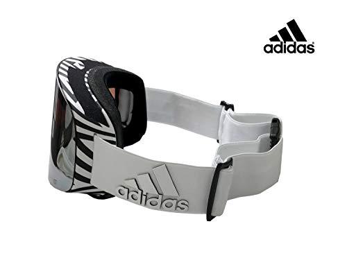 adidas アディダス BACKLAND 平面 WHITE MATT/LSTアクティブS AD80/51/6074 ADIDAS ゴーグル