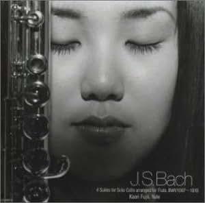 J.S.バッハ:フルートによる4つの無伴奏チェロ組曲 BWV1007~1010