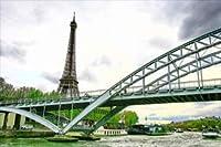 【フランスの風景ポストカード】エッフェル塔のあるパリ景色20のはがきハガキ葉書