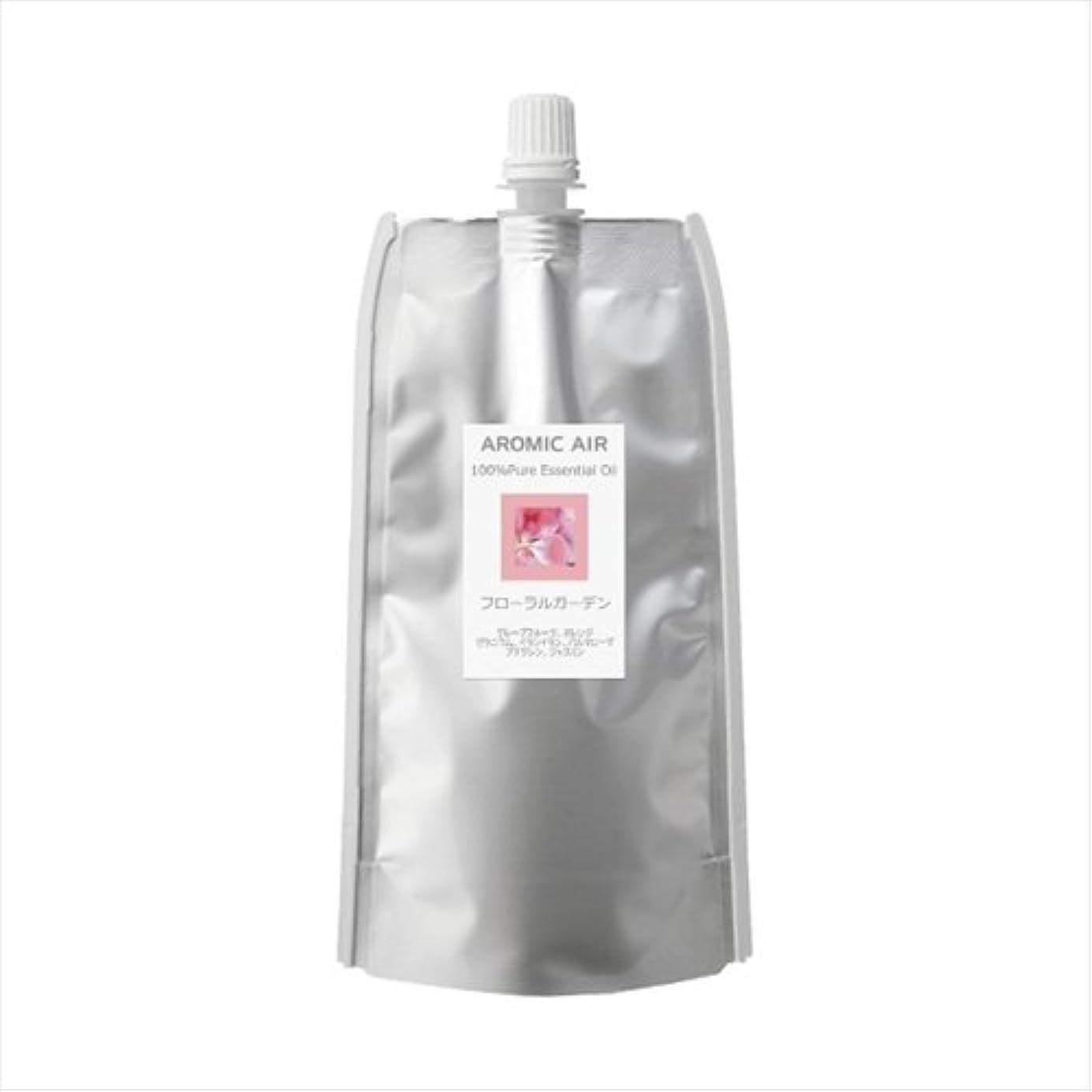 吸収剤変形繁栄アロミックエアー専用オイル フローラルガーデン 100ml