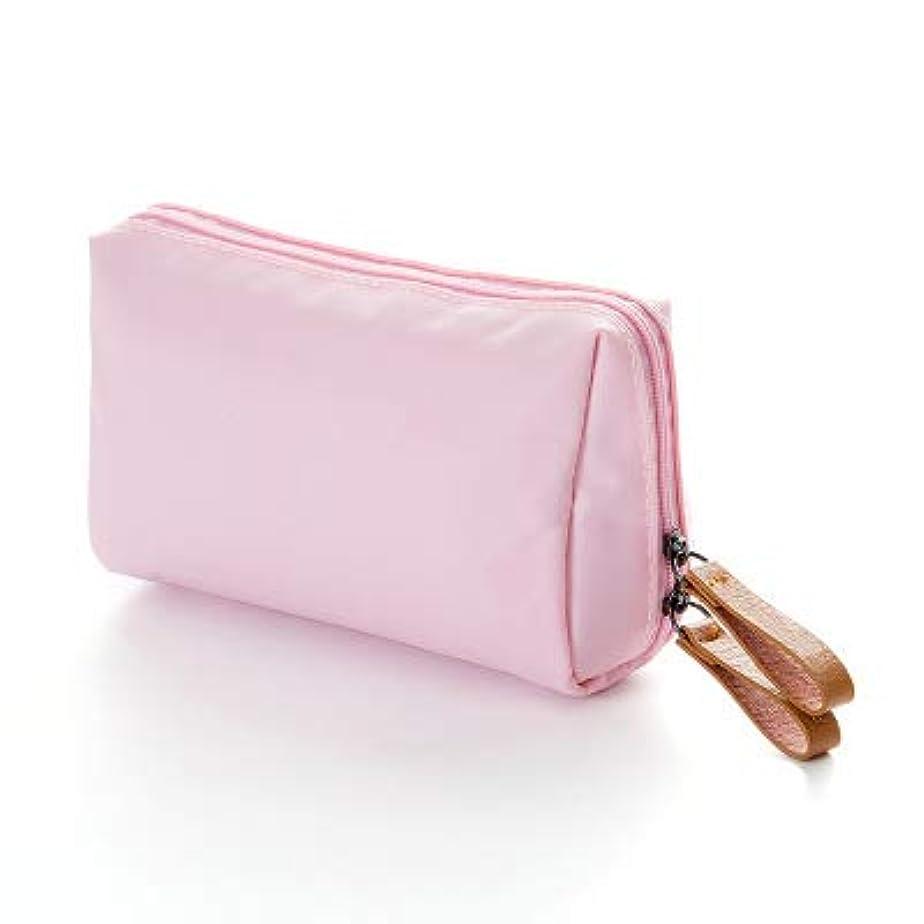 デザートドロップ商人KI¢KI 仕切りポケットつき メイクポーチ 軽くてコンパクト (ピンク)