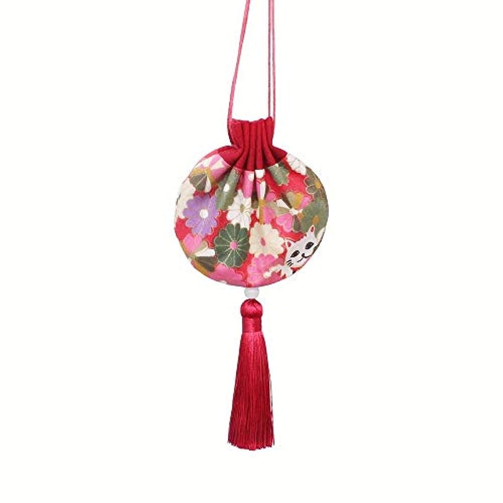 聴く高い保護中国古代工芸 香り袋 匂い袋 金運 財運 お守り お祭りに小銭入れもできます。(1,赤)