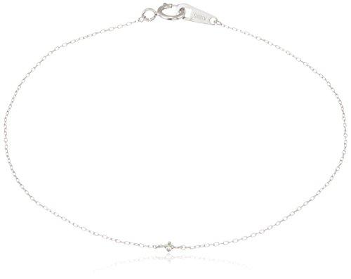[ブルーム] BLOOM K10ホワイトゴールド ダイヤモンド ブレスレット AGBW10063917