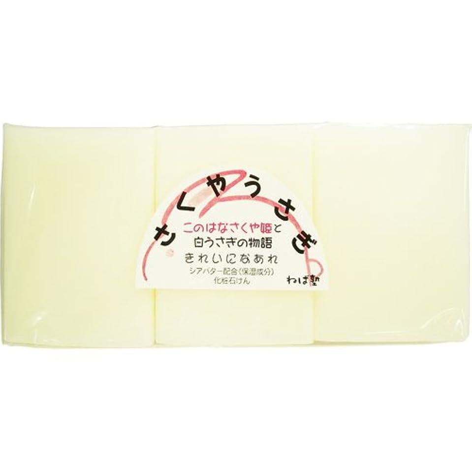 ロイヤリティ杖アイロニーねば塾 さくやうさぎ (117g×3個入)