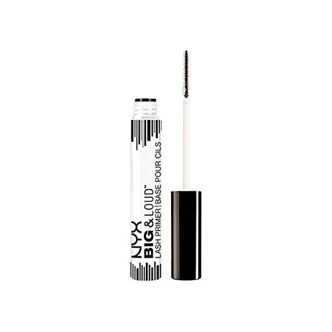 精巧な哀原点Nyx Cosmetics Big & Loud Lash Primer (Pack of 6) - 化粧品ビッグ&大声ラッシュプライマー x6 [並行輸入品]