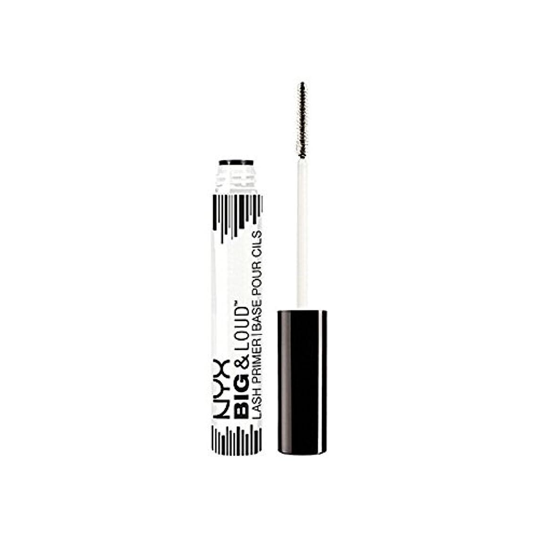 逆次非公式化粧品ビッグ&大声ラッシュプライマー x4 - Nyx Cosmetics Big & Loud Lash Primer (Pack of 4) [並行輸入品]