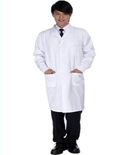 ドクター 白衣 長袖 コスチューム メンズ XLサイズ