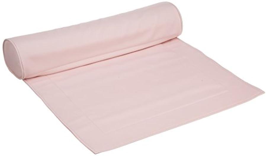 朝の体操をするフレッシュ経験マット&ピローセット ピンク
