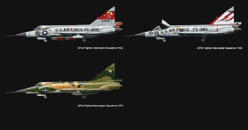 モンモデル 1/72 コンベア F-102A デルタダガー MNETS-003