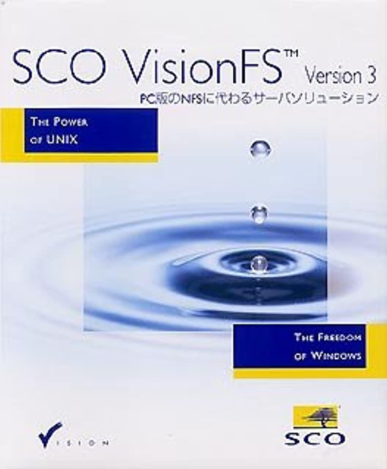 SCO VisionFS Version 3.1 Evalution/Media Pack