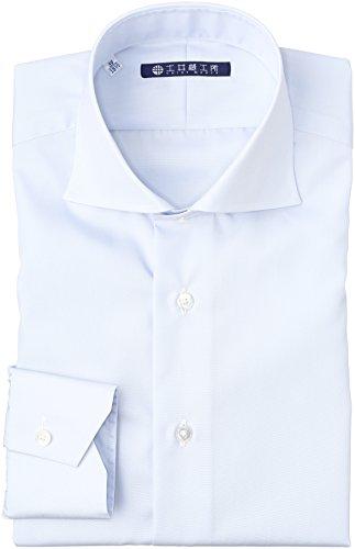 (ドイホウコウショ)土井縫工所 ホリゾンタルワイドカラー 形態安定 長袖シャツ
