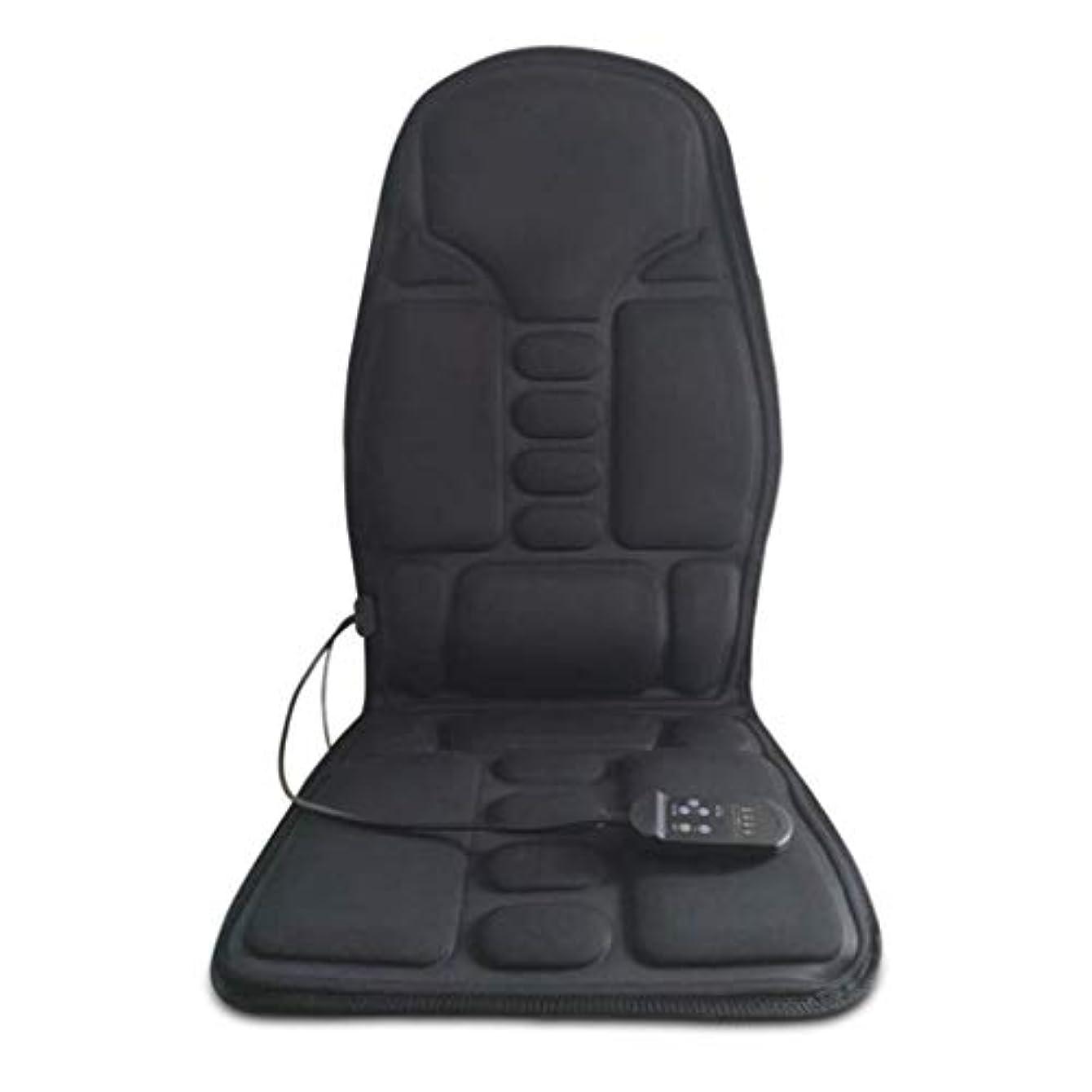 アンドリューハリディ椅子先住民電気マッサージクッション、カーシートマッサージャーの馬、体暖房オフィスマッサージクッション、マッサージ枕、電気家庭用マッサージクッション、痛み/圧力を和らげる