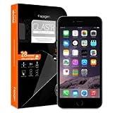 iPhone6 Plus ガラス フィルム, Spigen® iPhone 6 Plus 5.5 強化ガラス [GLAS.tR SLIM] (0.4mm) Rラウンド 加工 (iphone 6 Plus, Glas.t R [SLIM]) (Glas.t R [SLIM] 【SGP10878】)